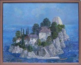 """""""Остров"""", 40х50"""