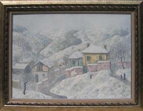 """Зимен пейзаж"", 50х70"