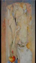 """Котка на прозореца"", 70х33"