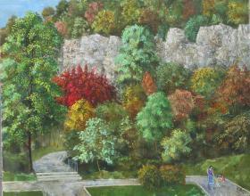 """""""Есенна разходка"""", 65х81"""