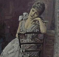 """Нина Петрова, """"Покой"""", 20х20"""