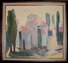 <p>Nadia Stancheva, <em>Landscape</em>, 50х55</p>