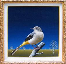 """Бялата птица"", 30х30"