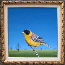 """Златната птица"", 30х30"
