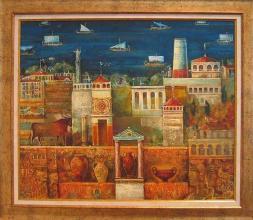 <p>ValeryTsenov, <em>Ancient Seas</em>, 50х60</p>