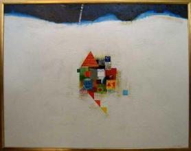 <p>Iliya Zhelev, <em>Hill for two</em>, 80х100</p>