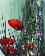 <p>Hikmet Chetinkaya, <em>Poppies</em>, 25х30</p>