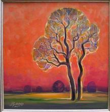 <p>Vihra Grigorova, <em>Lonely Sunset</em>, 50х50</p>