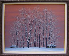 <p>Ivan Hristov-Grogа, <em>Winter evening</em>, 40х50</p>
