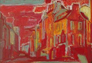 <p>Zhivka Marinova, <em>Paris</em>, 35х50</p>