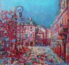 <p>Maria Raicheva, <em>Place de Vosges</em>, 30х30</p>