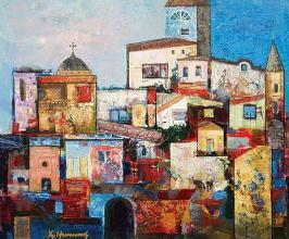Urban landscape, 54х65