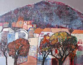 """""""Хълмът срещу нас"""", 65х80"""