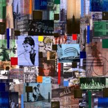 """""""Ню Йорк, улици"""", 30х30"""