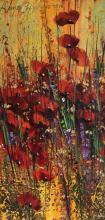 """""""Макове"""", 40х80, маслени бои/платно"""