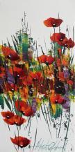 """""""Poppies"""", 60х30, oil on canvas"""
