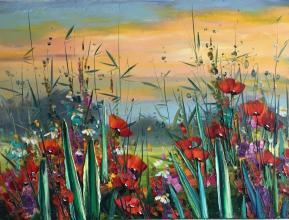 """""""Poppies"""", 60х80, oil on canvas"""
