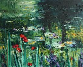 """""""Poppies"""", 80х100, oil on canvas"""