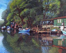 Kamchiya, 54х65, oil on canvas