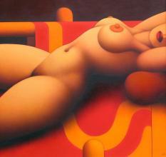 <p>Dimitar Buyukliiski-Mitchy, <em>Nude</em>, 70х70</p>