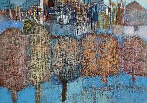 <p>Nedko Itinov, <em>Wharf</em>, 64х91</p>