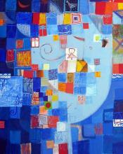 <p>Iliya Zhelev, <em>Blue morning</em>, 80х60</p>