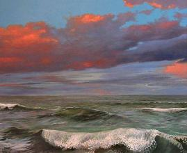 Wave, 60х70, oil on canvas