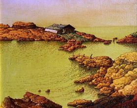 The yellow bay, 33х41, oil on canvas