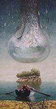 The calm, 60х30, oil on canvas