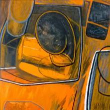 """""""Троен портрет"""", 60х60, маслени бои/платно"""