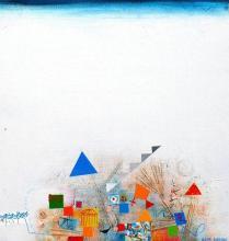 Birdland, 50х40, acrylic on canvas