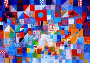 Morning, 70х100, acrylic on canvas