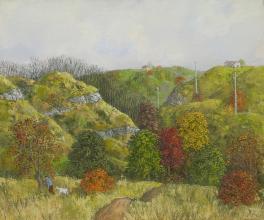 Hinko Hinkov, <em>Autumn</em>, 50х60, oil on canvas