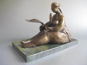 Penka Nikova, <em>Leda</em>, bronze