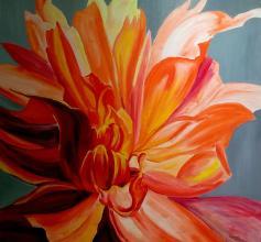 100х100, oil on canvas