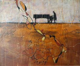 """""""Serenade"""" - 38x46 - acrylic on canvas"""