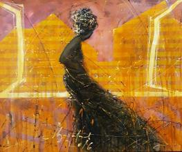 """Open window"" - 50x60 - acrylic on canvas"