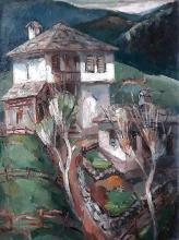 """Near Smolyan"", 85x65, oil on canvas"