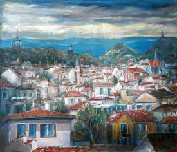 """Plovdiv"", /80х100/, oil on canvas"