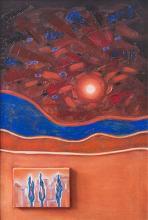 """""""Night"""" II - 80x53 - oil paints on canvas"""