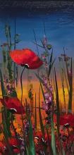 """Hikmet Chetinkaya - """"Poppies"""" - 40х20"""