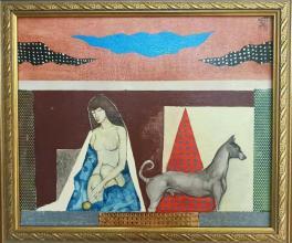 "Zdravko Palazov - ""Morning"" /25х30/ oil paints on canvas"