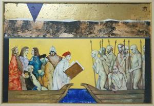 "Zdravko Palazov - ""On the other shore"" /44х64/ oil paints"