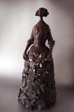 """Penka Nikova - """"Lady"""" - 74x34x34 - bronze"""