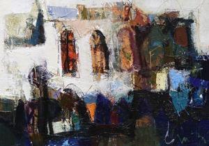 Stanimir Videv<br />45x62oil paints on canvas