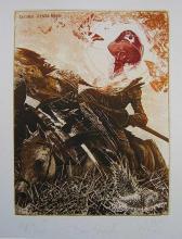 """Петър Великов """"Don Quixote"""" - графика"""