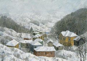 January, 50х70, oil on canvas