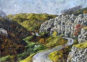 The road to Beglezh, 60х70, oil on canvas