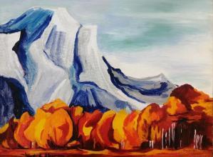30x40 oil paints on canvas