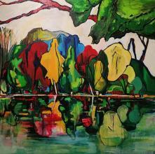 100х100 -oil paints on canvas